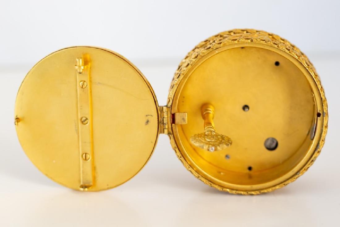 Gilt Bronze Table Clock, E. F. Caldwell - 4