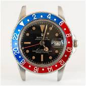 Vintage 1964 Rolex Stainless GMT Model 1675