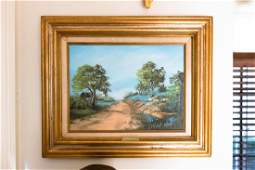 Opal Palmer Oil on Canvas Landscape