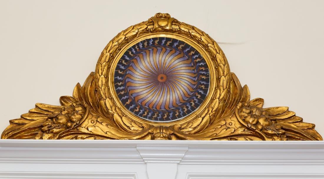 Turkish Ottoman Empire Style Overdoor Painting