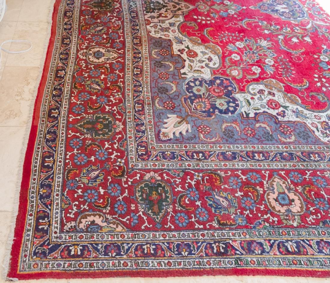 Room Size Tabriz Rug, 19' x 12.2' - 3