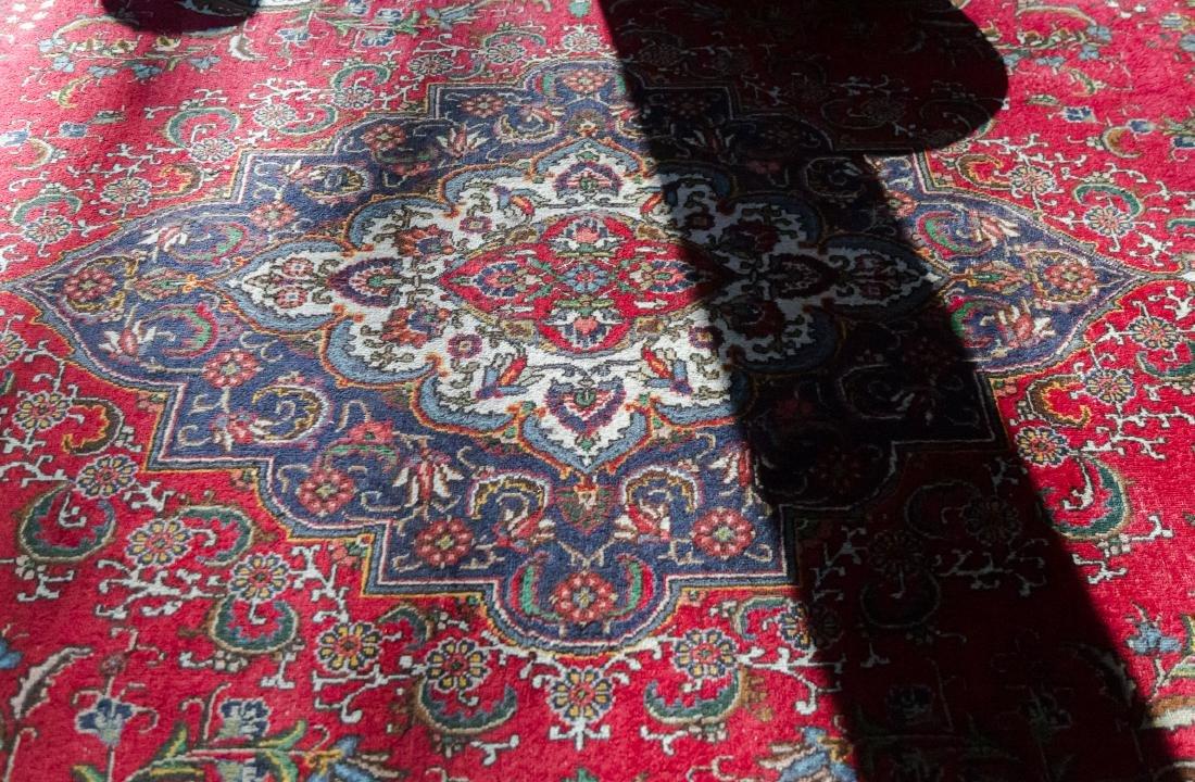 Room Size Tabriz Rug, 19' x 12.2' - 4