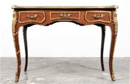 Louis XV Style Ladies Writing Desk, Leather Inset
