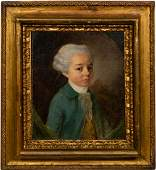 18th C French School Portrait of a Young Noble