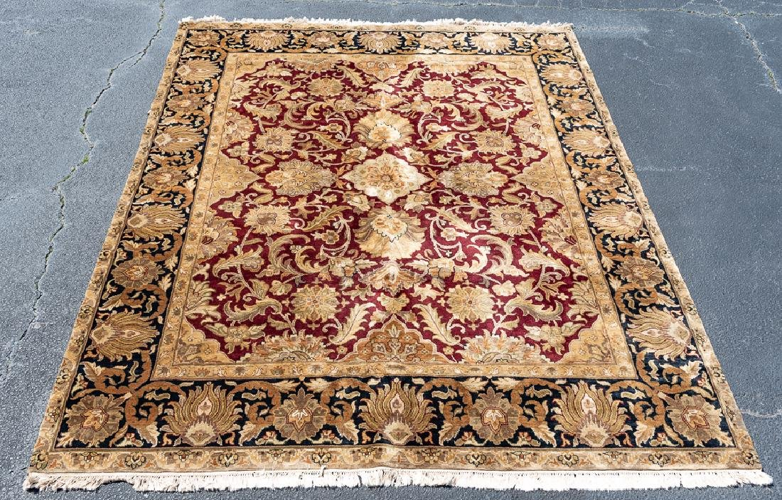 """Hand Woven Chinese Rug, 10' 5"""" x 8'"""