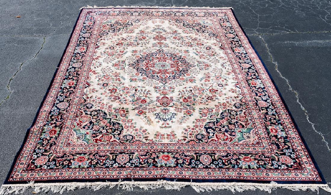 "Hand Woven Chinese Rug or Carpet, 14'2"" x 9'11"""