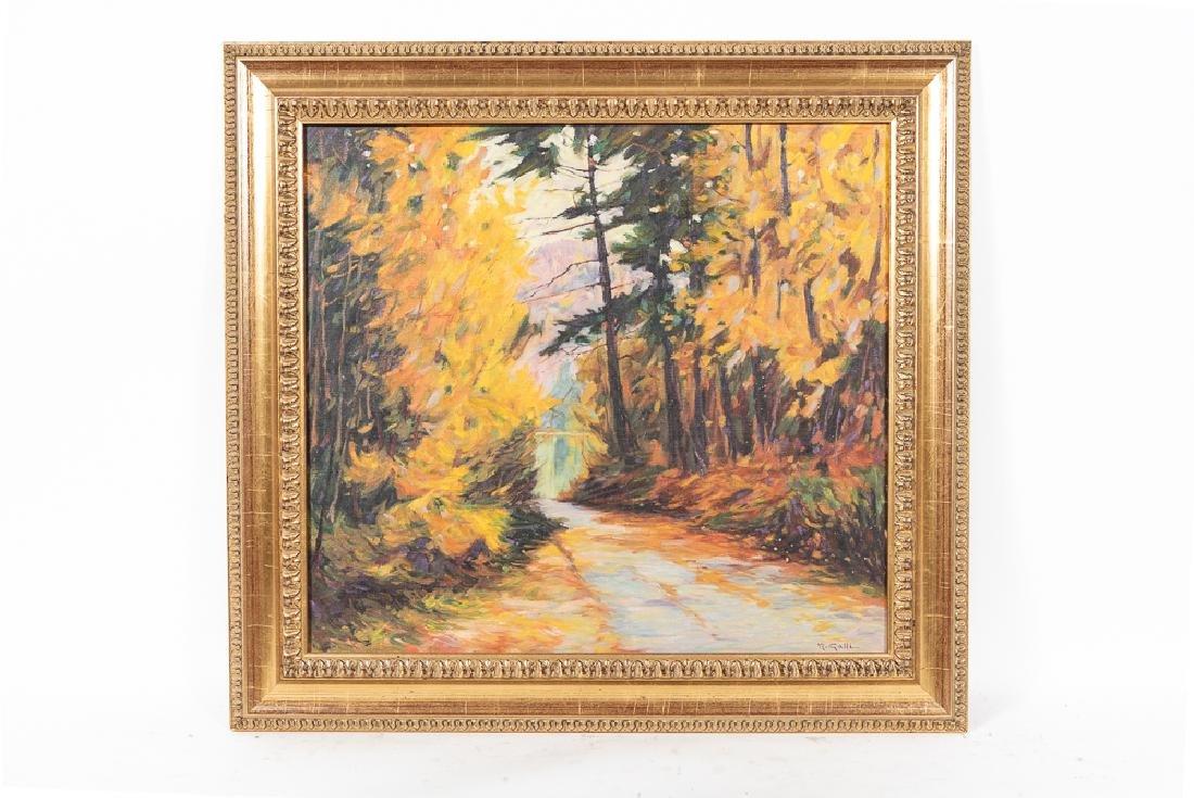 Robert Galli (b. 1939), Fall Landscape Oil