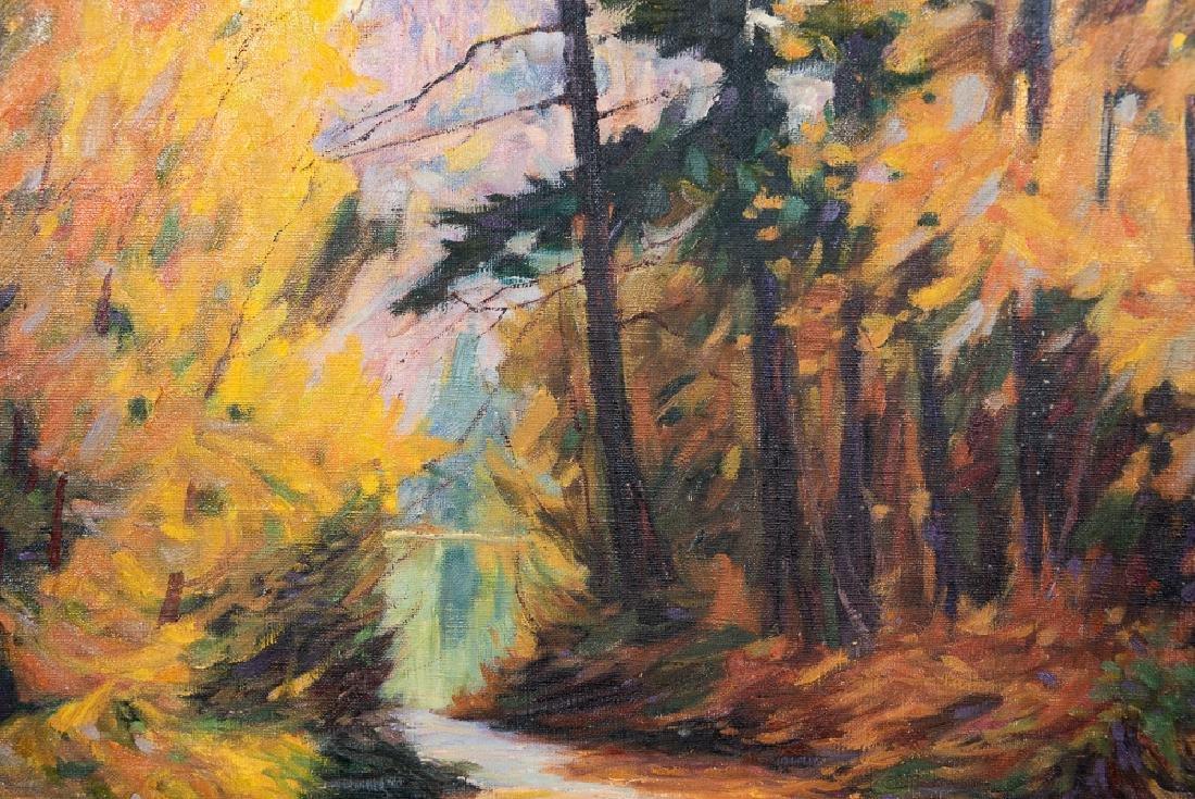 Robert Galli (b. 1939), Fall Landscape Oil - 4
