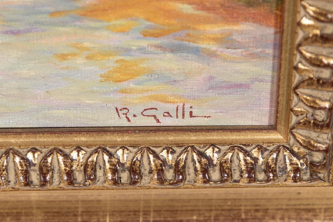 Robert Galli (b. 1939), Fall Landscape Oil - 5