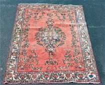 "Hand Woven Persian Rug, 6' 8"" x 4' 11"""