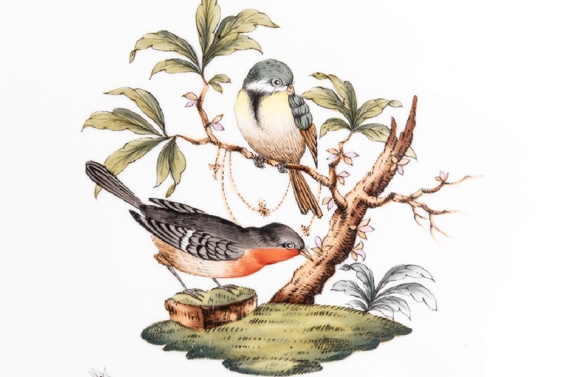 "Herend ""Rothschild Birds"" Lidded Tureen & Plate - 5"