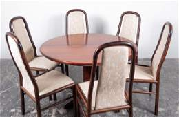 MCM Rasmus Dining Table & 6 Boltinge Dining Chairs