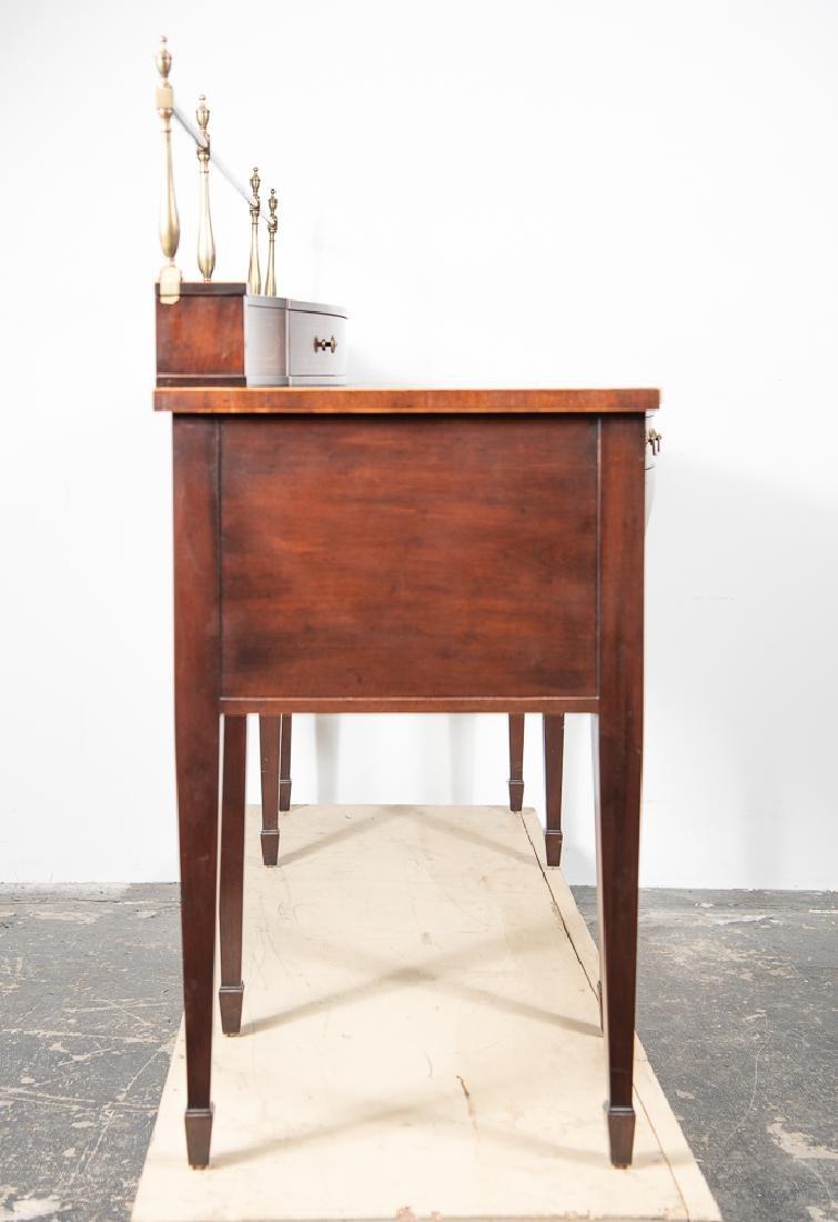 Baker Hepplewhite Style Mahogany Sideboard - 4