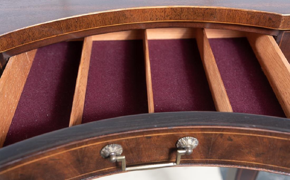Baker Hepplewhite Style Mahogany Sideboard - 5