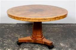 19th C. William IV Tilt-Top Breakfast Table