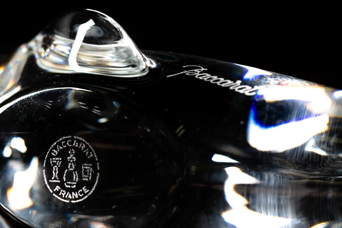 Five Baccarat Crystal Animal Paperweights - 5