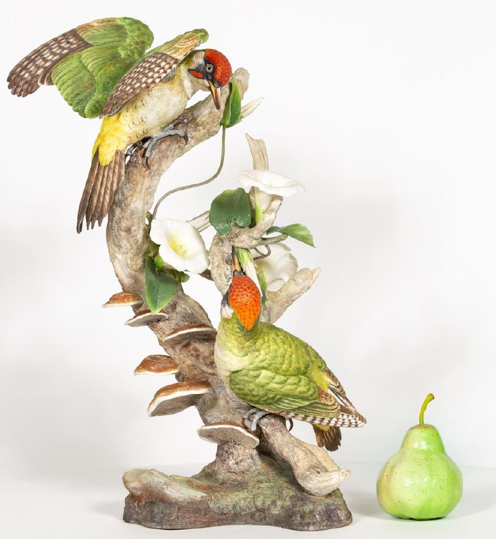 Boehm Green Woodpeckers Limited Edition Figures