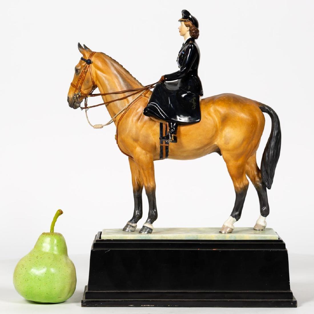 Royal Worcester Princess Elizabeth Figurine, Base