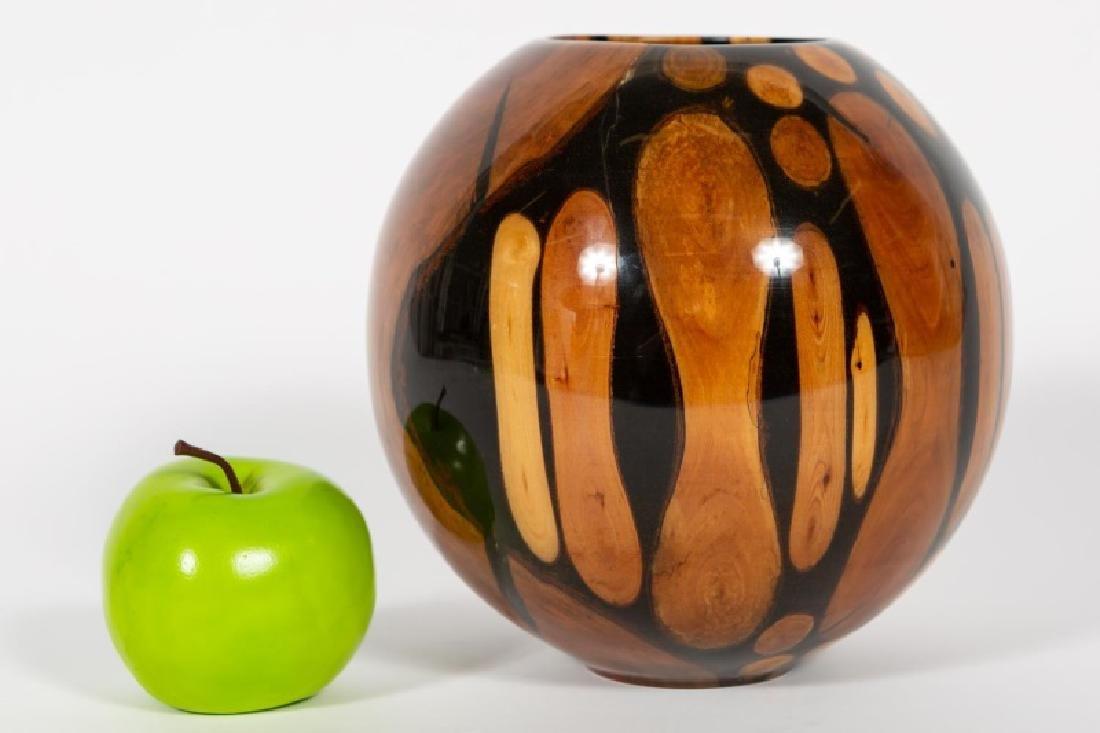 """Philip Moulthrop """"Bundled Mosaic"""" Turned Wood Bowl"""
