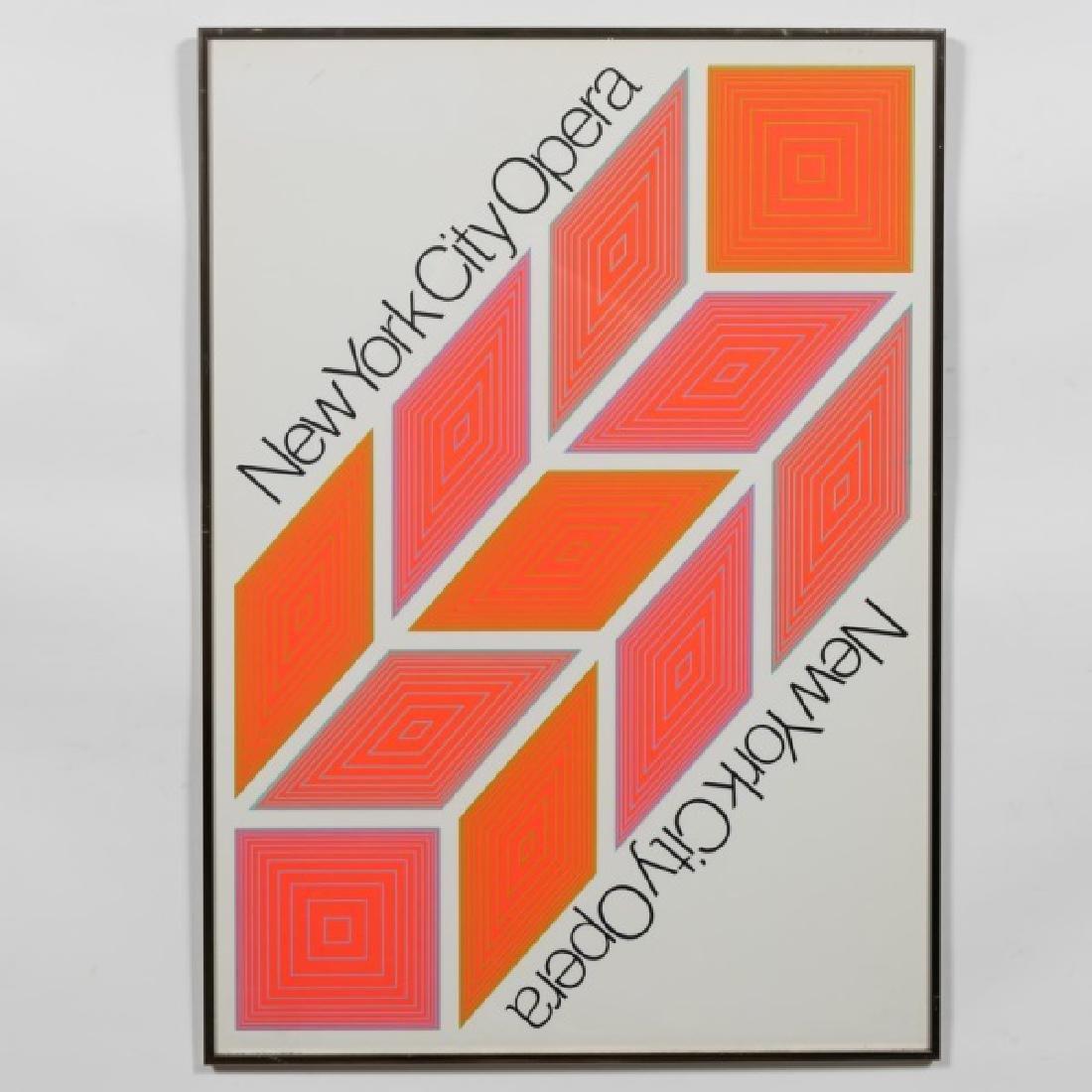 R. Anuszkiewicz New York City Opera Poster, 1968