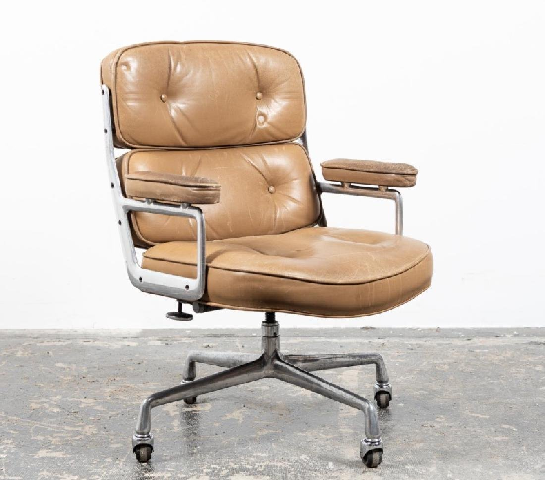Eames for Herman Miller Time-life Chair, Leather
