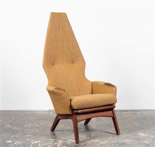 Pleasing Adrian Pearsall For Craft Tall Back Armchair Camellatalisay Diy Chair Ideas Camellatalisaycom