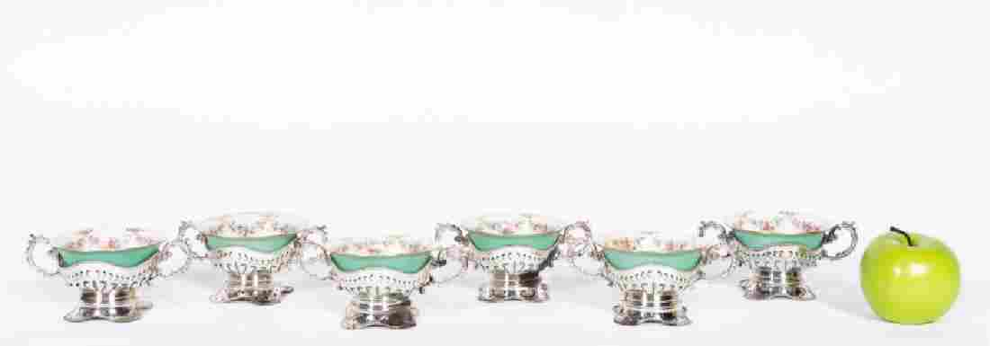 12 PC Lennox Sterling Silver Boullion Cup Set