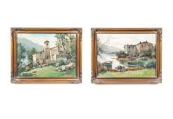 Two OC Signed Landscape Scenes