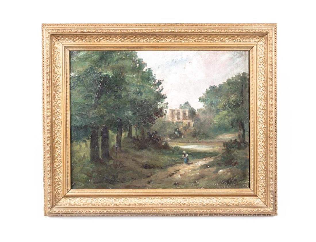 T. Zwezdakoff, 1894, Oil on Canvas, Landscape