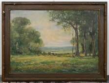 American OC Landscape Signed Robert Zell