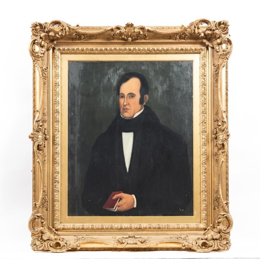 American School Portrait of Kingsley Mason, 19th C