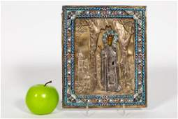 Late 19thEarly 20th C Russian Icon