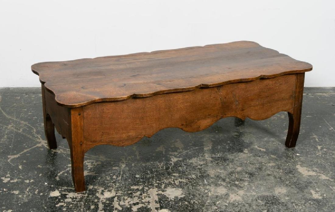 19th C. Provencal Louis XV Style Walnut Low Table