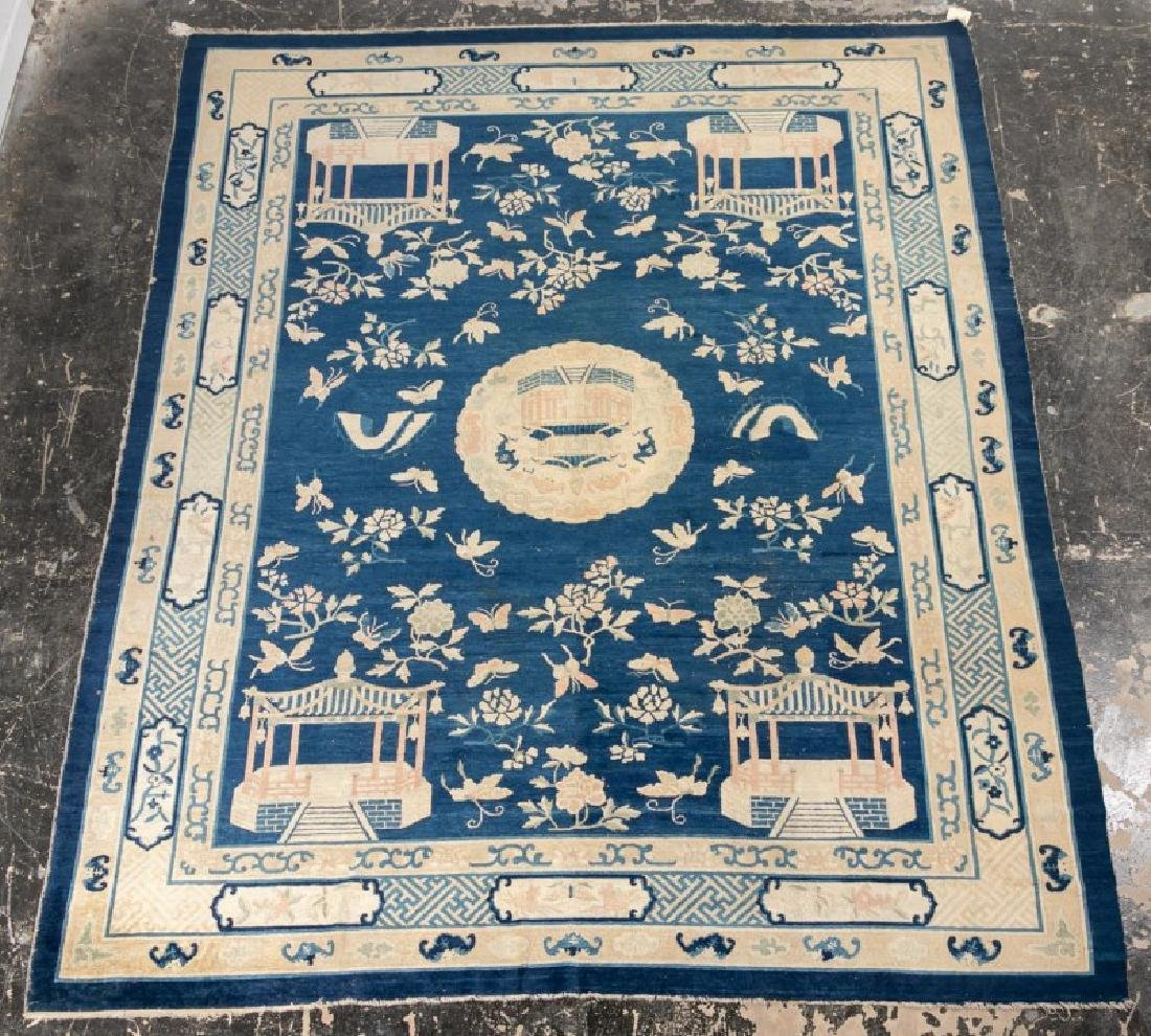 """Chinese Art Deco Large Area Rug, 11' 9"""" x 9' 2"""""""