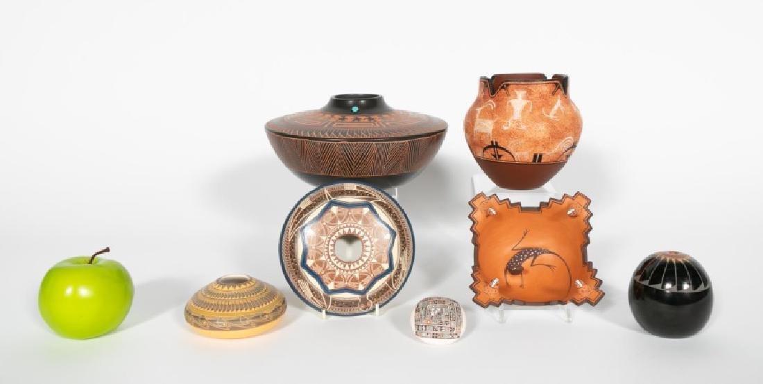 Southwest Pueblo Pottery Vessels, 7 Total