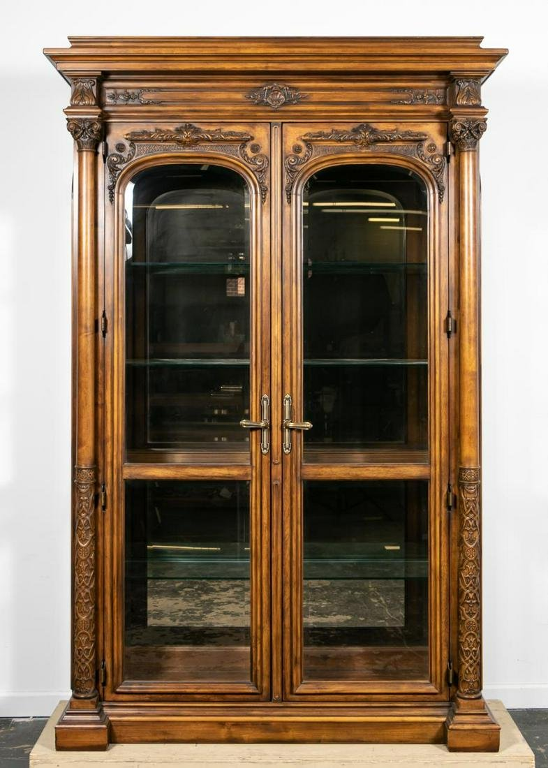 "Oversized Henredon ""Amalfi Coast"" Display Cabinet"