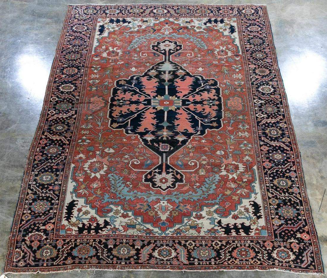 Handwoven Persian Heriz Rug, 14