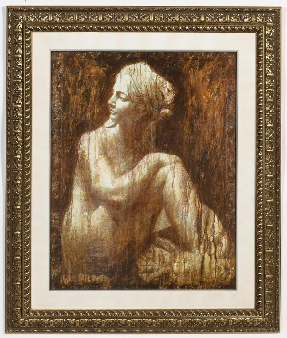 "Chiang, ""Woman After Bath"" Lithograph AP"