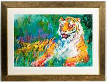 Leroy Neiman Resting Tiger Serigraph 44360