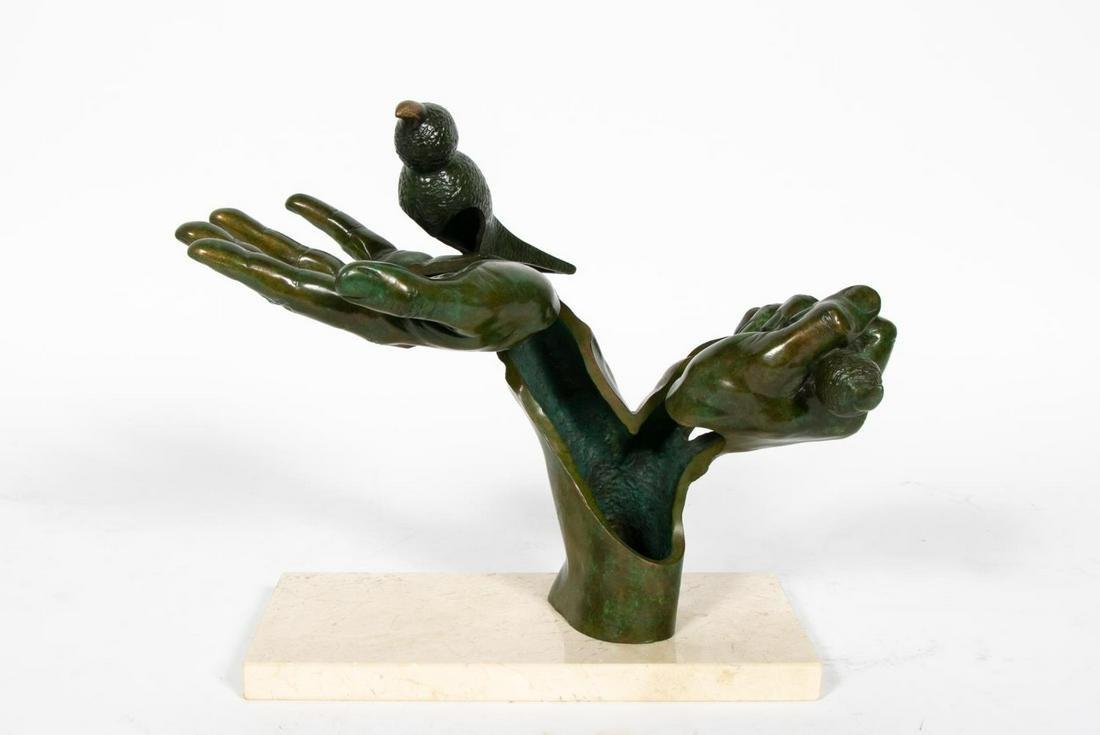 """Jean-Louis Landraud, Bronze Sculpture """"L'Homme"""""""