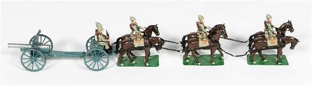 Alymer WWI German Artillery Horse Drawn Caisson