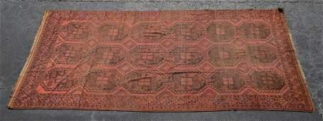 Handwoven Afghan Bokara Carpet