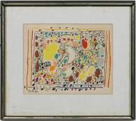 """Pablo Picasso, """"Le Picador II"""" 24 Color Lithograph"""