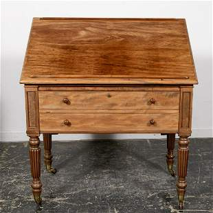 George IV Mechanical Architects Table or Desk