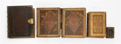 Five 19th C Books Religious and History