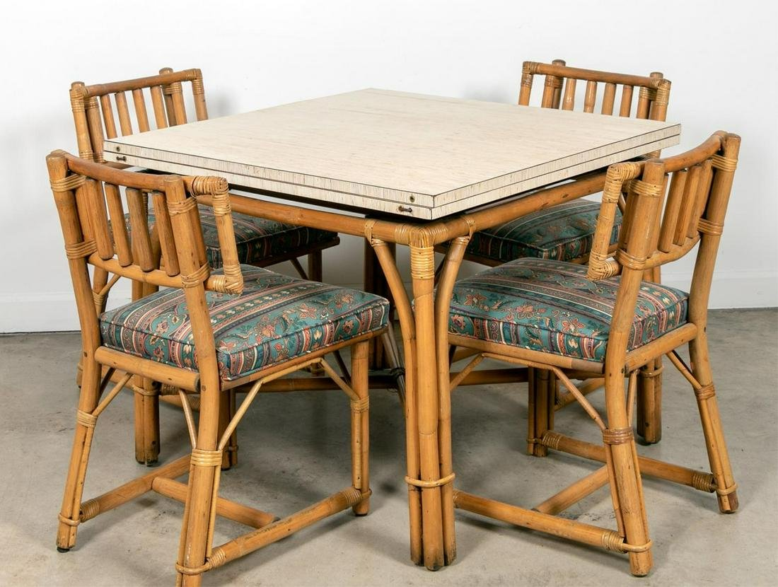 Ficks & Reed Five Piece Set, Table & Chairs
