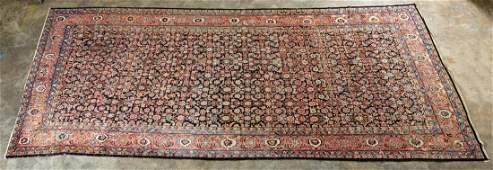 Large Persian Herati Design Gallery Wool Carpet