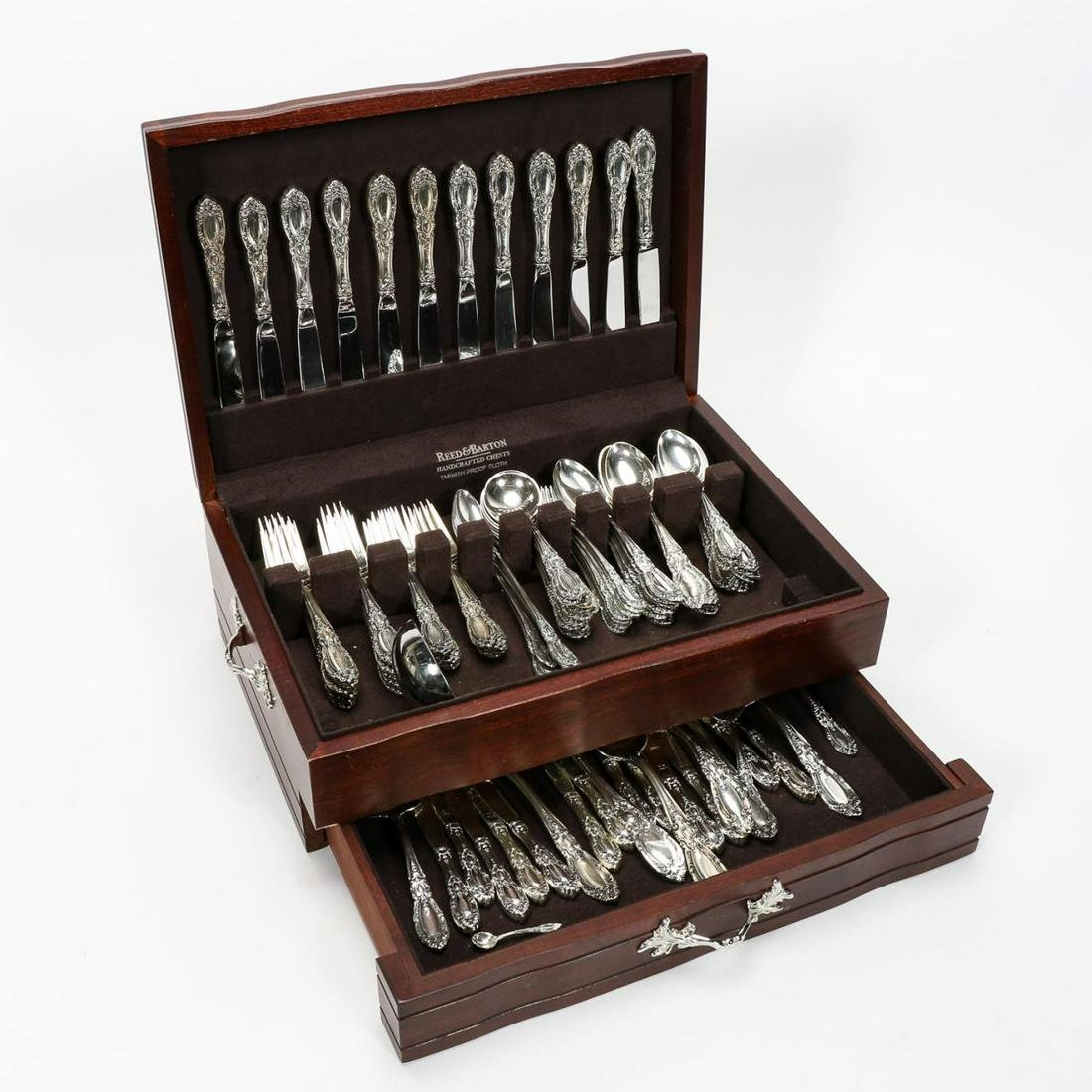 "113 PC, TOWLE ""KING RICHARD"" STERLING FLATWARE SET"