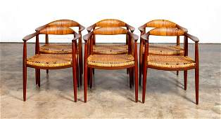 HANS J WEGNER THE CHAIR SET OF 6