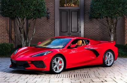 2020 Chevy Corvette C8 Z51, 3LT, 20 Miles, 13% BP
